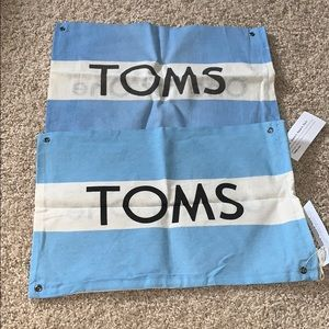 NWT bundle of TOMS dust bags.